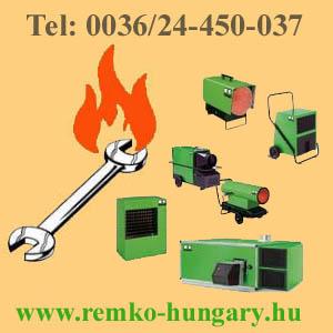 REMKO HŐLÉGBEFÚVÓK  www.remko-hungary.hu